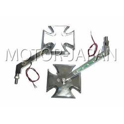 LUSTRA LUSTERKA CHOPPER HARLEY KLASYK DRAG CRUISER M10 10MM