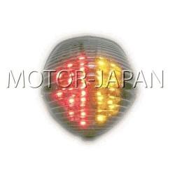 LAMPA TYL LED Z KIERUNKAMI SUZUKI GSX 650 750 F rok produkcji 1998 - 2003 HOMOLOGACJA