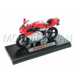 MV AGUSTA F4S MODEL METAL 1:18 WELLY PREZENT