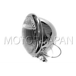 REFLEKTOR LIGHTBAR LAMPA PRZOD 4,5 CALA CHROM HOMOLOGACJA E4