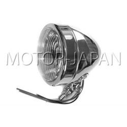 REFLEKTOR LIGHTBAR LAMPA PRZOD 4 CALE CHROM HOMOLOGACJA E4