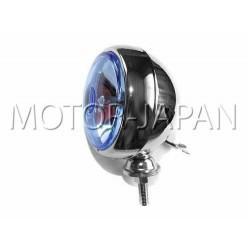REFLEKTOR LIGHTBAR LAMPA PRZOD 4 CALE CHROM 12V H3