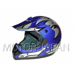 KASK CROSS ENDURO ATV QUAD CAN NIEBIESKI DEEP-BLUE/V