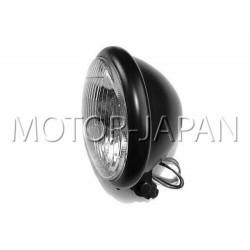 REFLEKTOR LIGHTBAR LAMPA PRZOD 5,5 CALA CZARNY MAT HOMOLOGACJA E4