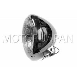 REFLEKTOR LIGHTBAR LAMPA PRZOD 5,5 CALA CHROM HOMOLOGACJA E4