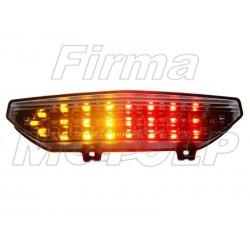 TYLNA LAMPA TYL LED Z KIERUNKAMI KAWASAKI ZX-6R GTR 1400 rok produkcji 2006 - 2009 HOMOLOGACJA E11