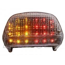 TYLNA LAMPA TYL LED Z KIERUNKAMI KAWASAKI ZR 550 ZEPHYR HOMOLOGACJA E11