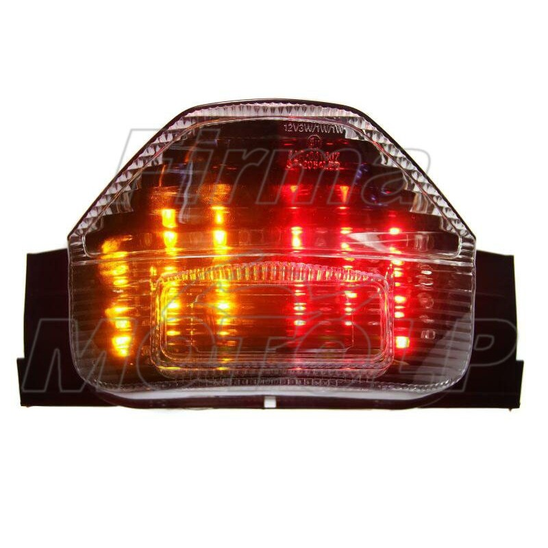 TYLNA LAMPA TYL LED Z KIERUNKAMI SUZUKI GSX 1400 rok produkcji 2002 - 2007 HOMOLOGACJA E11