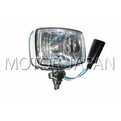 REFLEKTOR LAMPA LIGHTBAR CHROMOWANY METALOWY