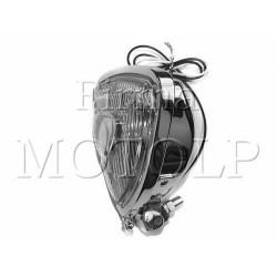 REFLEKTOR LIGHTBAR LAMPA PRZOD CHROM TRÓJKĄTNA H3