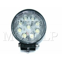 REFLEKTOR LIGHTBAR HALOGEN PRZEDNI LED 9 DIOD 12V