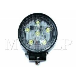REFLEKTOR LIGHTBAR HALOGEN PRZEDNI LED 6 DIOD 12V