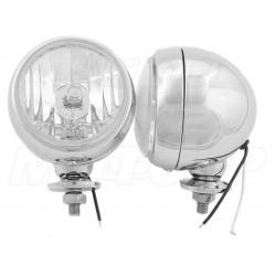 REFLEKTORY LIGHTBARY LAMPY PRZÓD H3 HOMOLOGACJA E4
