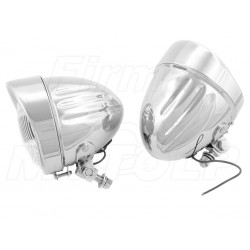 REFLEKTORY LIGHTBARY LAMPY PRZÓD 4,5 CALA CHROM HOMOLOGACJA E4