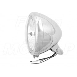 REFLEKTOR LIGHTBAR LAMPA PRZÓD 5,5 CALA CHROM HOMOLOGACJA E9