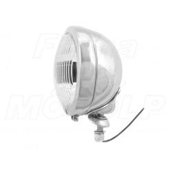 REFLEKTOR LIGHTBAR LAMPA PRZÓD 4,5 CALA CHROM METAL HOMOLOGACJA E4