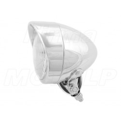 REFLEKTOR LIGHTBAR LAMPA PRZÓD 4 CALE CHROM HOMOLOGACJA E4
