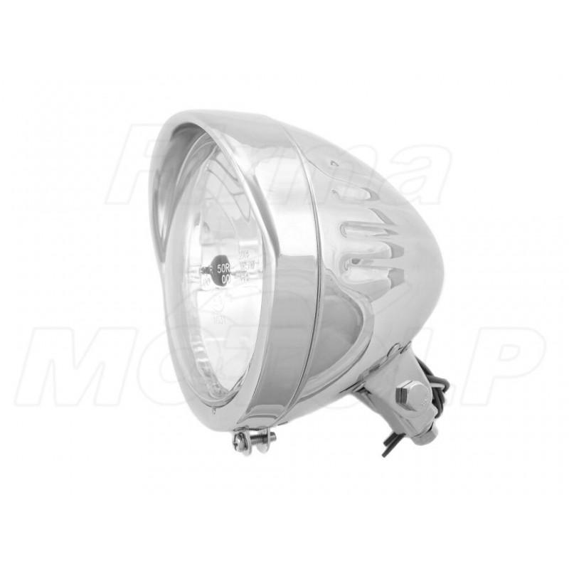 REFLEKTOR LIGHTBAR LAMPA PRZÓD 5,75 CALA CHROM HOMOLOGACJA E9