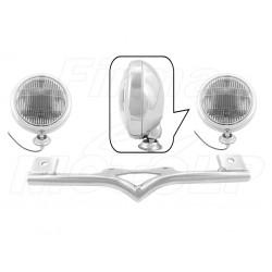 STELAŻ Z LAMPAMI LIGHTBARAMI HONDA VT 750 DC / RS / S SHADOW HOMOLOGACJA E4, 02B - PRZECIWMGŁOWE