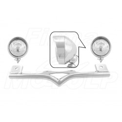 STELAŻ Z LAMPAMI LIGHTBARAMI HONDA VT 750 DC / RS / S SHADOW HOMOLOGACJA E9 HR - HALOGENOWE DROGOWE