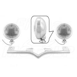STELAŻ Z LAMPAMI LIGHTBARAMI HONDA VTX 1300 C VTX 1800 C R S HOMOLOGACJA E4, 02B - PRZECIWMGŁOWE