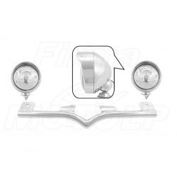 STELAŻ Z LAMPAMI LIGHTBARAMI HONDA VTX 1300 C VTX 1800 C R S HOMOLOGACJA E9 HR - HALOGENOWE DROGOWE