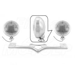 STELAŻ Z LAMPAMI LIGHTBARAMI HONDA VT 750 C C4 C5 C6 SHADOW HOMOLOGACJA E4, 02B - PRZECIWMGŁOWE