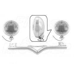 STELAŻ Z LAMPAMI LIGHTBARAMI HONDA VTX 1300 VTX1300 CX FURY HOMOLOGACJA E4, 02B - PRZECIWMGŁOWE