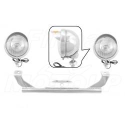 STELAŻ Z LAMPAMI LIGHTBARAMI SUZUKI M90 BOULEVARD M1500 INTRUDER VZ 1500