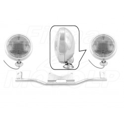 STELAŻ Z LAMPAMI LIGHTBARAMI KAWASAKI VN 800 900 1500 VULCAN HOMOLOGACJA E4, 02B - PRZECIWMGŁOWE