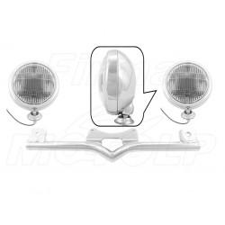 STELAŻ Z LAMPAMI LIGHTBARAMI KAWASAKI VN 800 VN 1500 VULCAN VN800 VN1500 HOMOLOGACJA E4, 02B - PRZECIWMGŁOWE