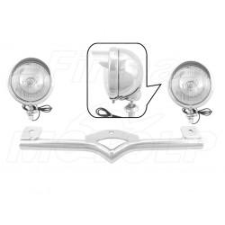 STELAŻ Z LAMPAMI LIGHTBARAMI HARLEY DAVIDSON HD SPORTSTER SOFTAIL FAT FXDB FXDWG WIDE GLIDE SOFTAIL SPORTSTER