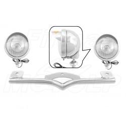 STELAŻ Z LAMPAMI LIGHTBARAMI HARLEY DAVIDSON HD 883 C 1200 C SPORTSTER FXD