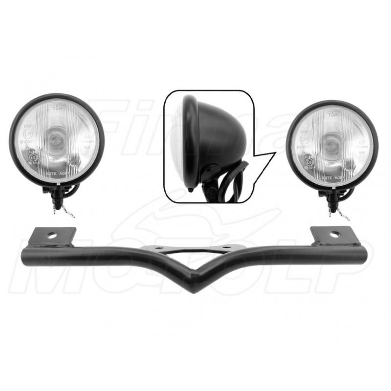 STELAŻ Z LAMPAMI LIGHTBARAMI HONDA VTX 1300 VTX1300 CX FURY HOMOLOGACJA E11 MB / E9 C-BS