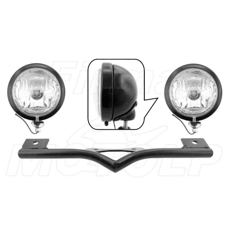 STELAŻ Z LAMPAMI LIGHTBARAMI HONDA VTX 1300 VTX1300 CX FURY HOMOLOGACJA E4 - HR