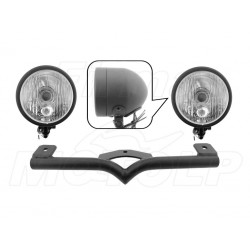 STELAŻ Z LAMPAMI LIGHTBARAMI HARLEY DAVIDSON HD 883 C 1200 C SPORTSTER FXD HOMOLOGACJA E4 - HR
