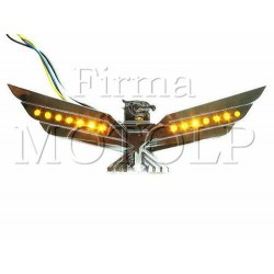 ORZEL ORNAMENT CHOPPER HONDA GL1800 GOLDWING CHROM