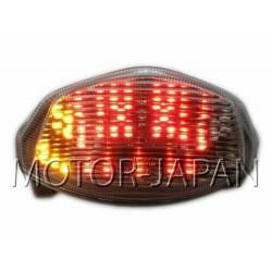 LAMPA TYL LED Z KIERUNKAMI SUZUKI GSX R GSX-R 1000 rok produkcji 2007 - 2008 HOMOLOGACJA
