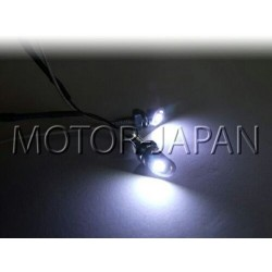 LAMPA LAMPKA KONTROLKA PODŚWIETLENIE TABLICY 12V - BIAŁE DIODY LED