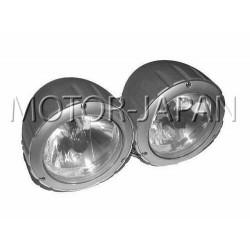 REFLEKTOR LIGHTBAR LAMPA PODWOJNA SREBRNA H4 ATEST