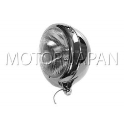 REFLEKTOR LIGHTBAR LAMPA PRZOD 4,5 CALA CHROM HOMOLOGACJA E13