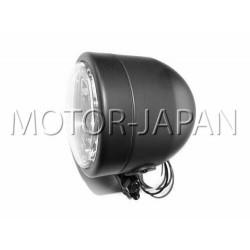 REFLEKTOR LIGHTBAR LAMPA PRZOD 4 CALE CZARNY MAT HOMOLOGACJA E9