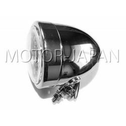 REFLEKTOR LIGHTBAR LAMPA PRZOD 4 CALE CHROM HOMOLOGACJA E9