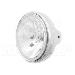 REFLEKTOR LAMPA CHROM - SUZUKI GSX GSF BANDIT / HONDA CB HOMOLOGACJA E4