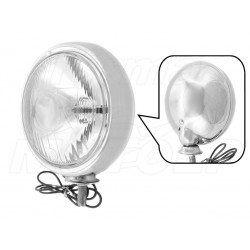 REFLEKTOR LIGHTBAR LAMPA PRZÓD CHROMOWANA 4,5 CALA