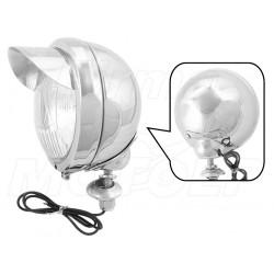 REFLEKTOR LIGHTBAR LAMPA PRZÓD CHROMOWANY 4,5 CALA