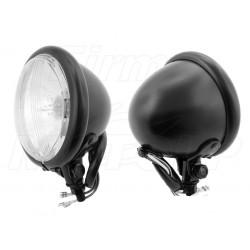 REFLEKTORY LIGHTBARY LAMPY PRZÓD 4,5 CALA CZARNY MAT HOMOLOGACJA E11