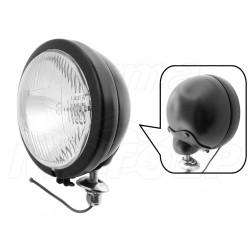 REFLEKTOR LIGHTBAR LAMPA PRZÓD 4,5 CALA CZARNY MAT HOMOLOGACJA E13