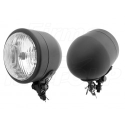 REFLEKTORY LIGHTBARY LAMPY PRZÓD 4 CALE CZARNY MAT HOMOOGACJA E4 HR