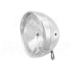 REFLEKTOR LAMPA PRZÓD LIGHTBAR CHROM METAL BOCZNE MOCOWANIE HOMOLOGACJA E4